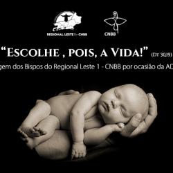 Mensagem dos Bispos do Regional Leste 1 – CNBB por ocasião da ADPF 442